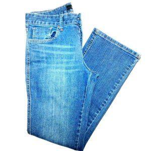 """Calvin Klein Boot Cut Mid Rise Jeans 6 30x29"""""""